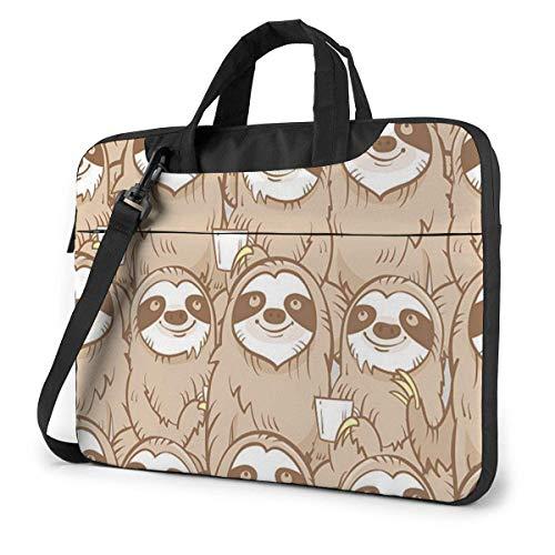 15.6″Lightweight Laptop Notebook Shoulder Backpack Bag Drinking Waterproof PC Briefcase Messenger with Strap