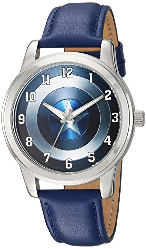 Marvel Reloj analógico para Hombres de Cuarzo WMA000006