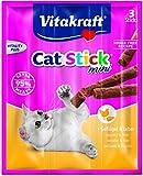 Vitakraft  Katzensnack  Cat Stick® mini Geflügel&Leber, 20er Pack