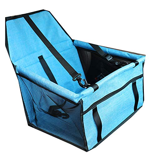 Review YUMEIGE Booster Seats Car Booster Seat for Small Medium Breeds Dogs,Dog Car Seat Frosted Ma...