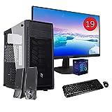 Pc Gaming Desktop quadcore Ryzen 5 1400 / 8gb Ddr4 /ssd m.2 256gb + Hdd 1000gb/ Windows 10...