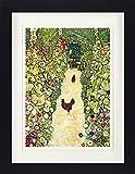 1art1 Gustav Klimt - Gartenweg Mit Hühnern, 1916 Gerahmtes