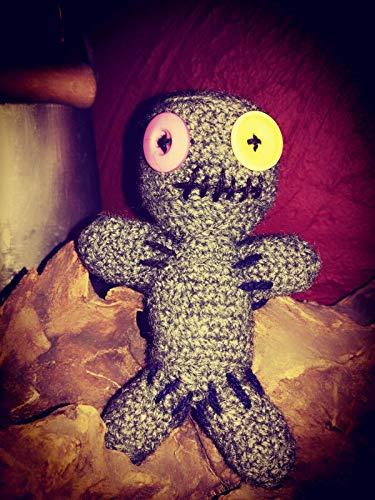 kleine Voodoo Puppe - auch als Nadelkissen verwendbar -Handarbeit
