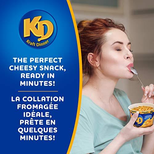 Dîner Kraft Dinner Macaroni Fromage Original 12 portions individuelles de 58g - 2