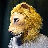 Tier Latex Kopfmaske für Halloween Kostüm