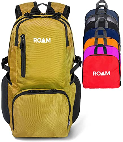 Roam 25L Hiking Daypack, Lightweight Packable Backpack, Rainproof, for Travel, Camping, Foldable,...