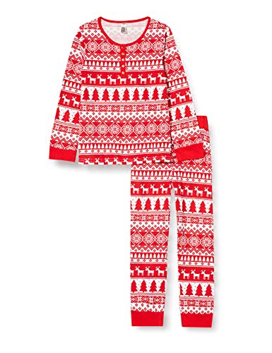 mon P'tit Dodo BF.Holy.py2 Juego de Pijama, Imprime, 4 ANS para Niñas