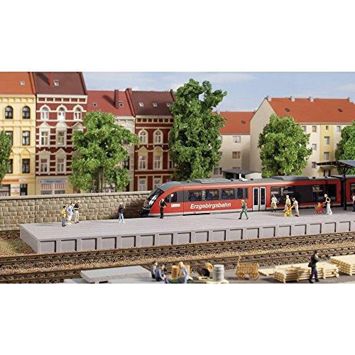 Auhagen 41634 - spoor zonder overkapping, modelspoorbaan accessoires