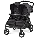 Peg Perego Book for Two Zwillings-Kinderwagen Onyx