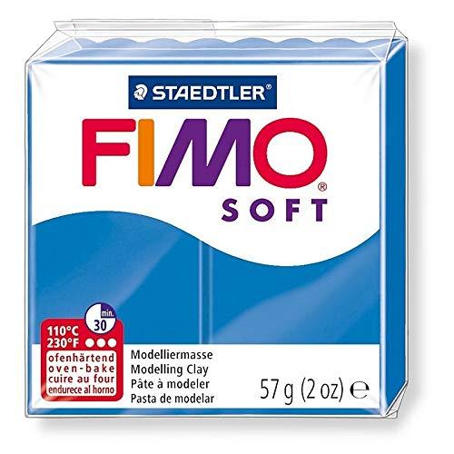 DTM-SOL Fimo soft kleur pacific blauw nr. 37, brood polymeer 57 g om te bakken in de oven