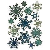 Sizzix Thinlits Fiocchi di Neve di Carta Mini Fustella, Acciaio al Carbonio, Multicolore, 19.1x14.4x0.4 cm
