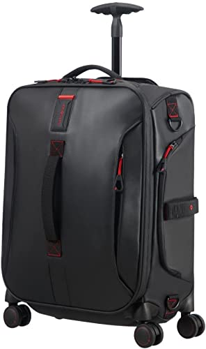 SAMSONITE Paradiver Light - Spinner Duffle Bag 55/20 Sac de Voyage, 55 cm, 50 liters, Noir (Black)