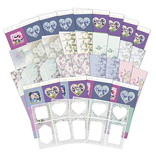 Hunkydory Filigree Frames Frosted Florals Luxury Card Collection FLORFRAME101