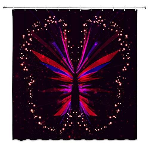Decoración de la cortina de la ducha del océano Piscina Sombrilla Salón...