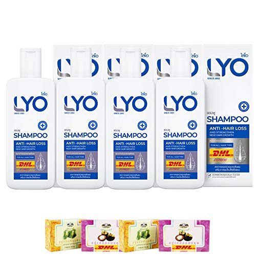 LYO SHAMPOO HAIR GROWTH ANTI FALL Tulsa Mall THIN INT REDUCE 100% quality warranty LOSS