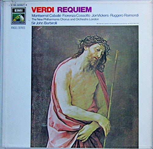 Verdi: Requiem (Aufnahme: London 1970) [Vinyl Schallplatte] [2 LP Box-Set]
