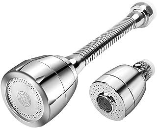 Kitchen Tap Head Extender Sprayer Vaburs Water Saving Tap Head Aerator Nozzle Filter Diffuser Kitchen Accessories with Uni...