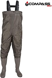 ReeeR Compass 360 Windward PVC Cleated Chest Waders (11)- Stone Compass 360 Windward PVC Cleated Chest Waders (11)- Stone