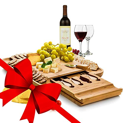 Amazon - Cheese Board and Knife Set $29.99