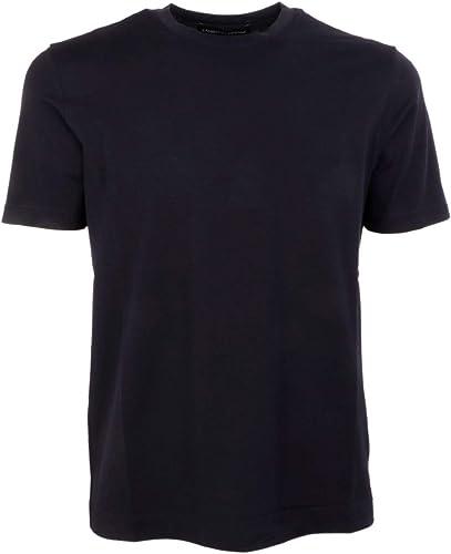 LAMBERTO LOSANI Homme H281077616 Bleu Coton T-Shirt