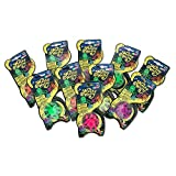 Wacky Wally Nowstalgic Toys Neon Wall Crawler - 10 Piece Party Pack