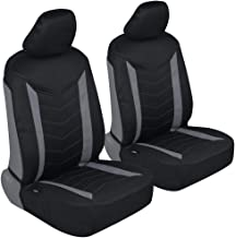 Motor Trend M284 AllProtect Neoprene Car Sideless Seat Covers – Two Tone Stitched Premium Waterproof Auto Universal Fit for Sedan Truck SUV