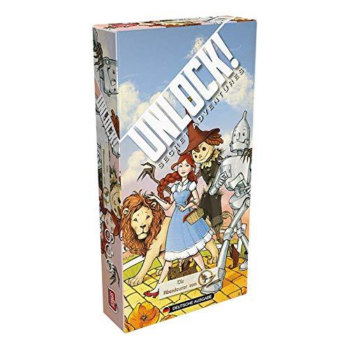 Space Cowboys SCOD0056 Asmodee Unlock! - Die Abenteurer von Oz, Rätselspiel, Deutsch