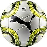 Puma Final 4 Club (IMS APPR) Balón de Fútbol, Puma White-Lemon Tonic-Puma Black, 5