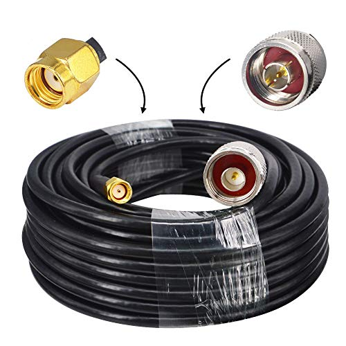 YILAINDUO - Cable de antena wifi para conector RP-SMA RG58 de 50 Ohm para cable de antena FPV