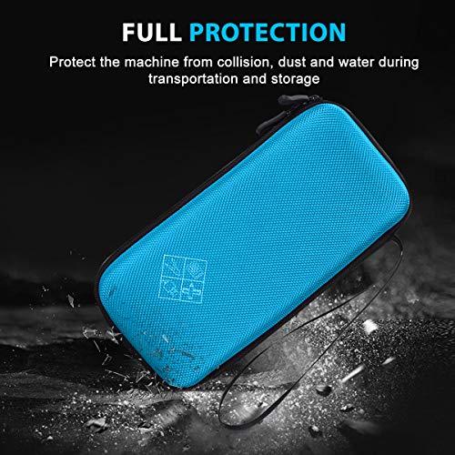 XBERSTAR Hard EVA Shockproof Carry Case Bag Pouch for Texas Instruments TI-84 Plus CE/Color TI-83 Plus,TI-89 Titanium, HP 50G Graphing, Scientific Financial Calculators (Blue) … Photo #6