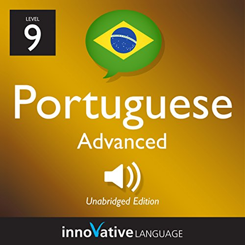 Learn Portuguese - Level 9: Advanced Portuguese, Volume 1: Lessons 1-50  By  cover art