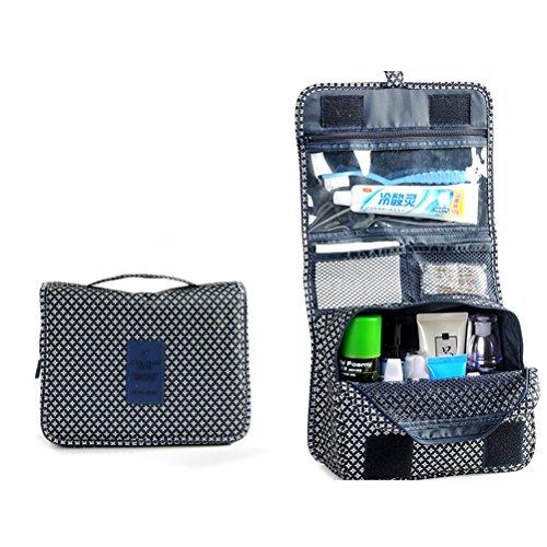 Pixnor laver sac étanche suspendre Wash Sac à main stockage Maquillage Trousse RS Toilette Pouch Organisateur de Voyage