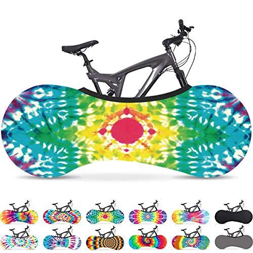 Bolsa de almacenamiento interior para bicicleta antipolvo Paquete de neumáticos de alta elasticidad lavables a prueba de rasguños Equipo de protección para carretera Mtb Garaje, la mejor solución