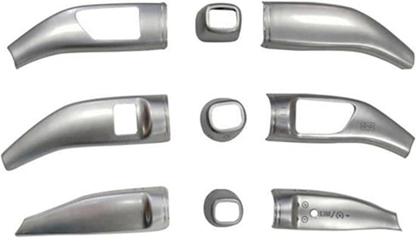 Anteprima Chrome Wiper Shift palanca de cruceros lentejuelas cubre el kit de pegatinas de marco apto para Mercedes Benz GLA GLE GLS ML GL Estilismo de coche Vito