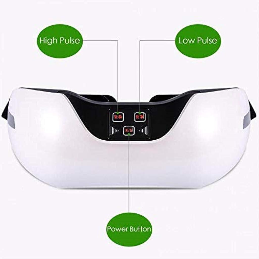 オークランド彫刻入場近視の予防のための視力回復器具トレーニングアイマッサージ器具 (Color : White)