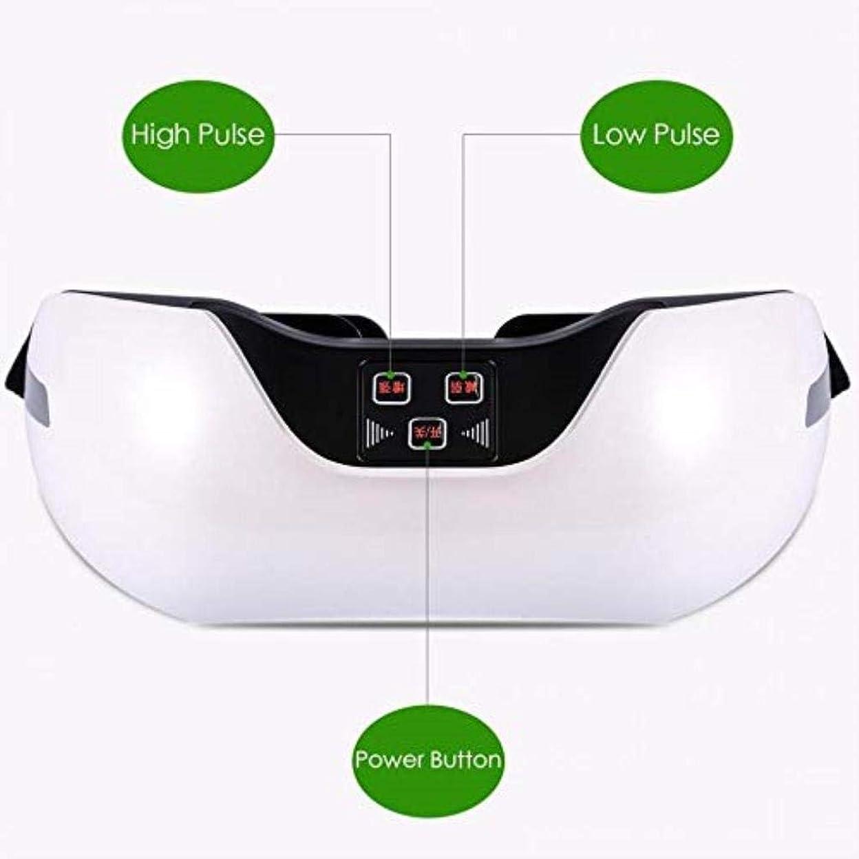 植物学月スクラブ近視の予防のための視力回復器具トレーニングアイマッサージ器具 (Color : White)