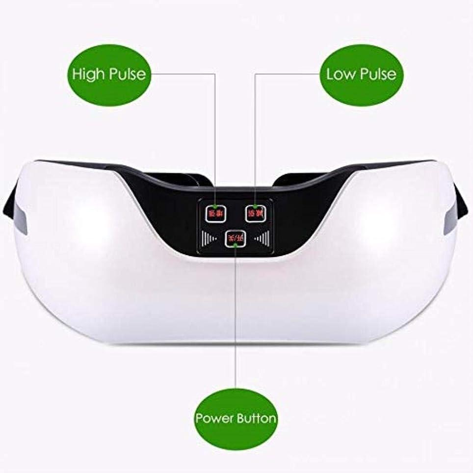 動揺させるチューインガム震え近視の予防のための視力回復器具トレーニングアイマッサージ器具 (Color : White)