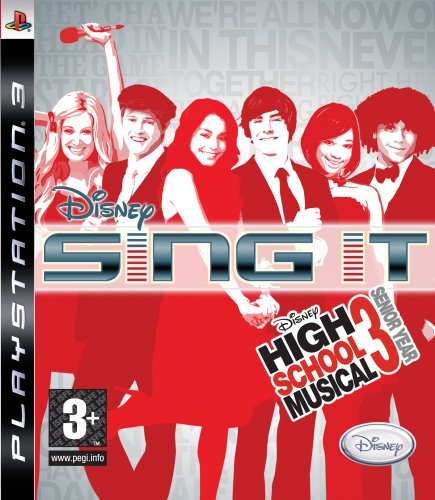 Disney Sing It: High School Musical 3 Senior Year (PS3) [Edizione: Regno Unito]