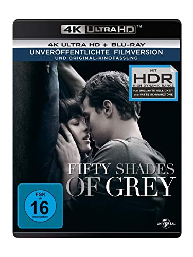 Fifty Shades of Grey - Geheimes Verlangen (4K Ultra HD) (+ Blu-ray)
