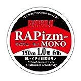 Rapala(ラパラ) ナイロンライン ラピズム モノ 150m 1.0号 6lb クリア RPZM150M10CL