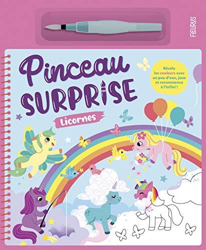 Pinceau surprise - Licornes