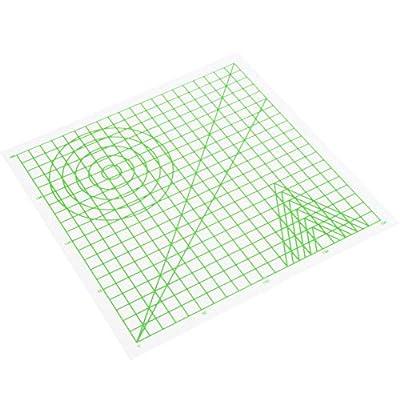 sjlerst 3D Drawing Mat,Supports all 3D pen/3D filaments,3D Printing Pen Mat Creative ABS DIY Drawing Template Pad Children Educational Toys,220x220x0.5mm