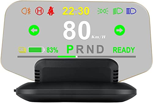 popular iKiKin Head Up Display outlet sale for for Tesla Model 3 Model Y,5.1in HD Car HUD T1 with Speed, Clock, Gear, Battery discount Power, Mileage outlet online sale