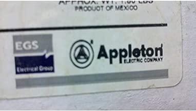 Appleton ACP6023BC 60 Amp Clamping Ring Plug, 3-Pole, 2-Wire