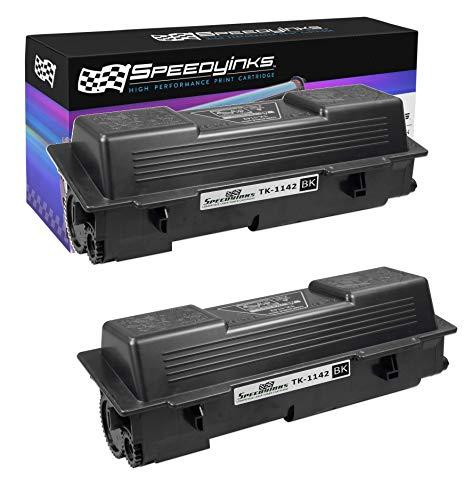 Speedy Inks Compatible Toner Cartridge Replacement for Kyocera-Mita Black TK-1142 (Black, 2-Pack)