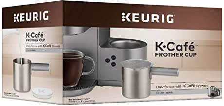 Keurig K-Cafe Coffee Maker, Single Serve K-Cup Pod Coffee, Latte and Cappuccino Maker Compatible with Keurig K-Café Coffee...