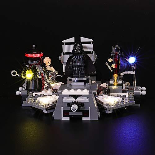 BRIKSMAX Kit de Iluminación Led para Lego Star Wars Transformación de Darth Vader, Compatible con Ladrillos de Construcción Lego Modelo 75183, Juego de Legos no Incluido