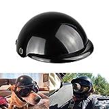 Enjoying Haustierhelm – Motorradhelm für Hunde und Katzen, schwarz, Größe S