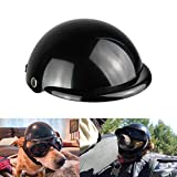 Enjoying Pet Helmet - Motorcycle Dog Helmet Bike Cat Hat Riding Doggie...