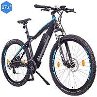 """NCM Moscow Bicicleta eléctrica de montaña, 250W, Batería 48V 13Ah 624Wh (Negro 27,5"""")"""